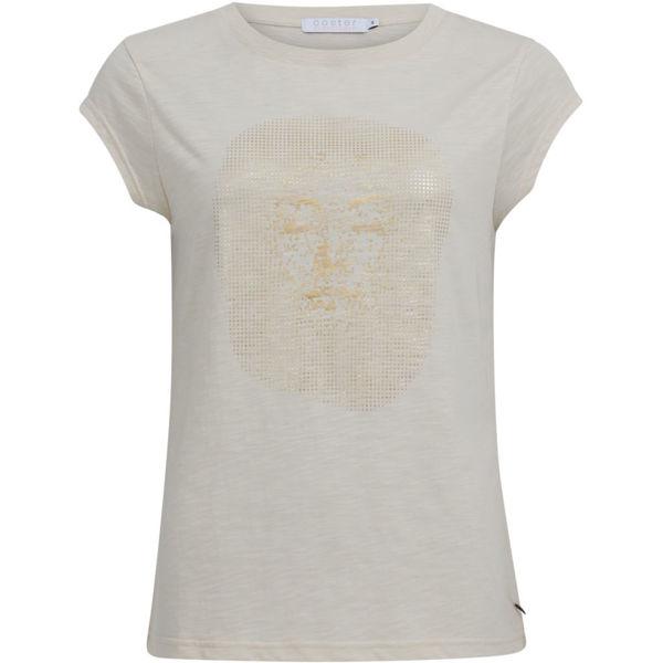 Coster Copenhagen T-shirt W. Gold Face Cream