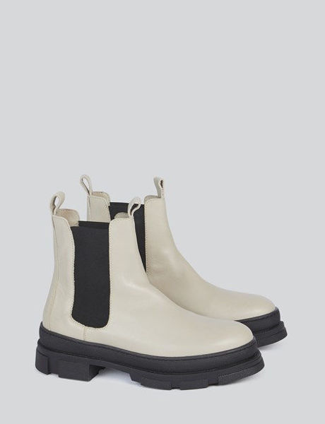 Summum Støvler Chunky Chelsea Boot Soft Taupe