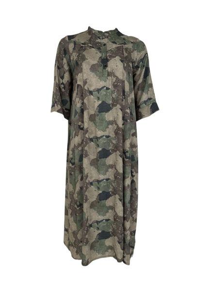 Black Colour Kjole Kenna Camouflage